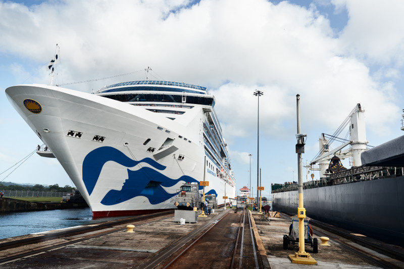 �������� Princess Cruises ���������� Island Princess �������������ް���˹ɽ�����ݺ�62���������� 2020��1��8�ձ������� �����ܵǴ� ���߱��:1120010811